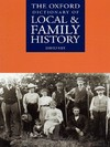 The Oxford Dictionary of Local and Family History